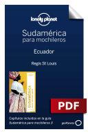 Sudamérica para mochileros 3. Ecuador