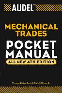 Audel Mechanical Trades Pocket Manual