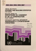 Annual Bulletin of Housing and Building Statistics for Europe