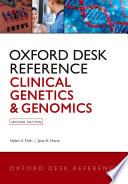 Oxford Desk Reference Clinical Genetics And Genomics Book PDF