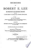 Memoirs of Robert E  Lee