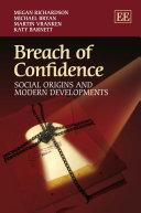 Breach of Confidence ebook