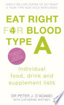 Eat Right for Blood Type A Book PDF