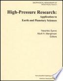 High-pressure Research