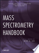 Mass Spectrometry Handbook Book PDF