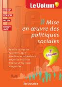 Mise en oeuvre des politiques sociales 2e édition - Le Volum' -