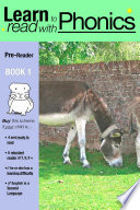 Learn to Read with Phonics Pre Reader Book 1 Book