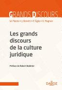 Pdf Les grands discours de la culture juridique - 2e ed. Telecharger