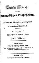 Christliche Sittenlehre über die evangelischen Wahrheiten: -2. Bd. Christlicher Lebensstand
