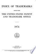 Index of Trademarks Issued from the United States Patent Office