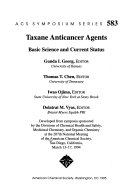 Taxane Anticancer Agents