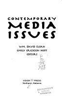 Contemporary Media Issues Book