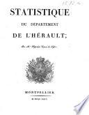 Statistique du départment de l'Hérault