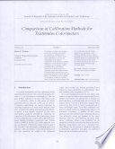 Comparison Of Calibration Methods For Tristimulus Colorimeters Book PDF