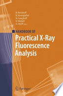 Handbook of Practical X Ray Fluorescence Analysis