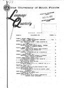 Language Quarterly