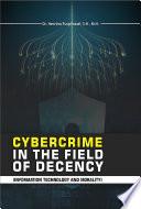 Cybercrime In The Field Of Decency