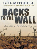 Backs to the Wall Book