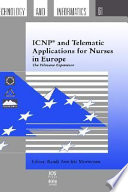 Icnp And Telematic Applications For Nurses In Europe Book PDF