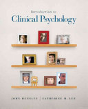 Introduction To Clinical Psychology Book PDF