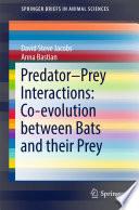 Predator Prey Interactions Co Evolution Between Bats And Their Prey
