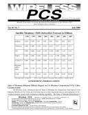 Wireless PCS Telecommunications Book
