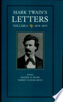 Mark Twain S Letters Volume 6