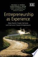 Entrepreneurship as Experience