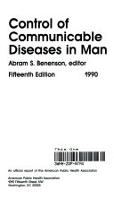 Control of Communicable Diseases in Man
