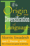 The Origin and Diversification of Language Pdf/ePub eBook