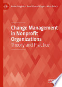 Change Management In Nonprofit Organizations Book PDF
