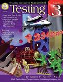 Preparing Students for Standardized Testing, Grade 3