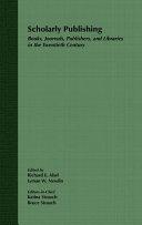 Scholarly Publishing