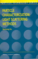 Particle Characterization  Light Scattering Methods