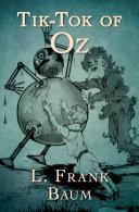 Tik-Tok of Oz [Pdf/ePub] eBook