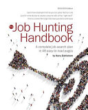 Job Hunting Handbook 2018 19  A Complete Job Search Plan in 48 Easy to Read Pages