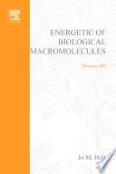 Energetics of Biological Macromolecules  Part E