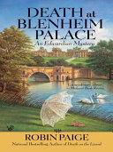 Death at Blenheim Palace Pdf/ePub eBook