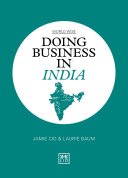 Doing Business in India Book