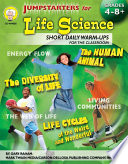 Jumpstarters for Life Science  Grades 4   8