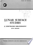 Lunar Surface Studies