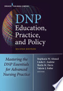 Dnp Education Practice And Policy Second Edition
