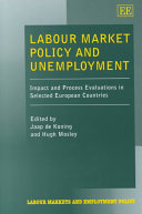 Labour Market Policy And Unemployment