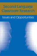 Second Language Classroom Research