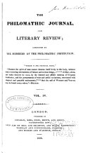 Philomathic Journal and Literary Review
