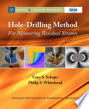 Hole Drilling Method For Measuring Residual Stresses Book PDF