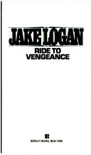 Ride To Vengeance Book