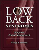 Low Back Syndromes  Integrated Clinical Management