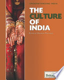 The Culture of India Book