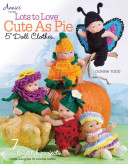 """Lots to Love Cute as Pie 5"""" Doll Clothes"""